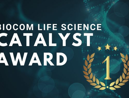 Joe Dunham Wins Biocom Life Science Catalyst Award